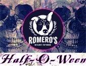 Half-O-Ween Art Show at Romeros