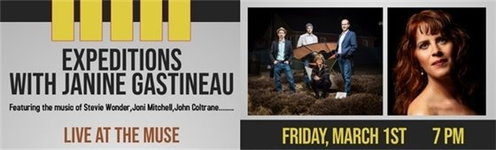 First Fridays at The Muse Performance Space: Expeditions with Janine Gastineau
