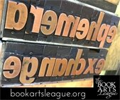 Don't miss the 2021 Ephemera Exchange by the Book Arts League!