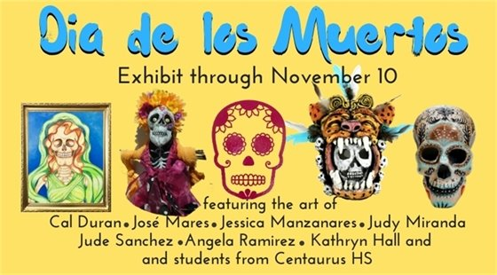 Day of the Dead Exhibit and Programming at The Collective; Oct 2-Nov 10