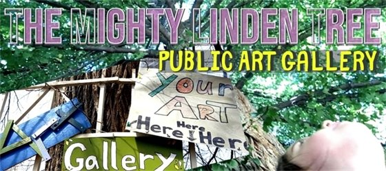 The Mighty Linden Tree Public Art Gallery