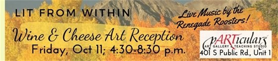 Reception 10/11 4:30-8PM