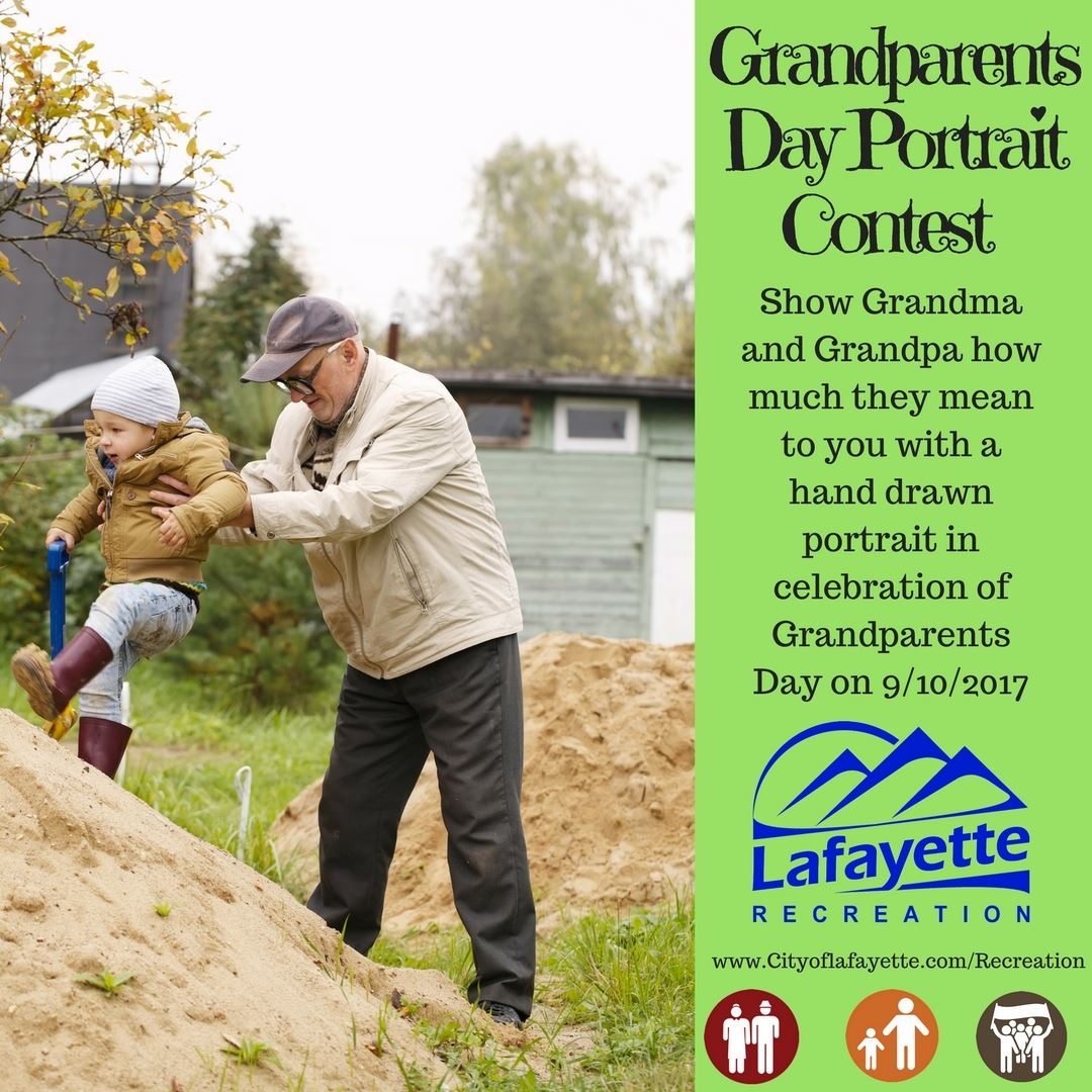 Grandparents Day Protrait Contest IG