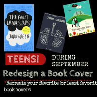 Teen Book Cover Redesign Contest