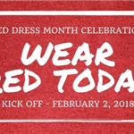 wear red today