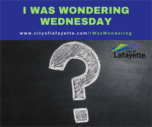 I was wondering Wednesday question mark graphic