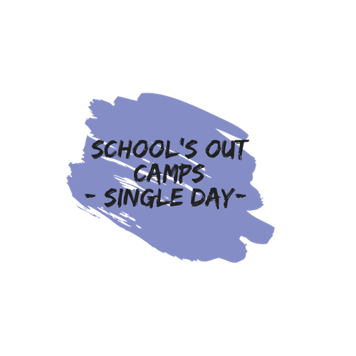 Single Day Schools Out Buttons