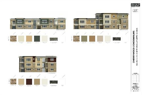 PR5-1 MATERIAL SELECTIONS RENDERED ELEVATIONS