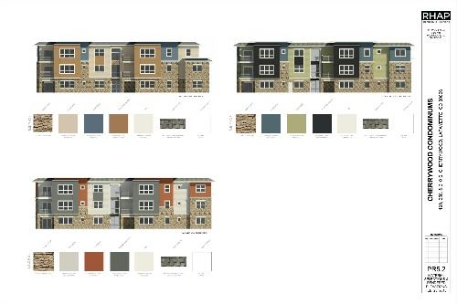 PR5-2  MATERIAL SELECTIONS RENDERED ELEVATIONS