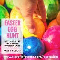 Easter Egg Hunt on March 24th 2018