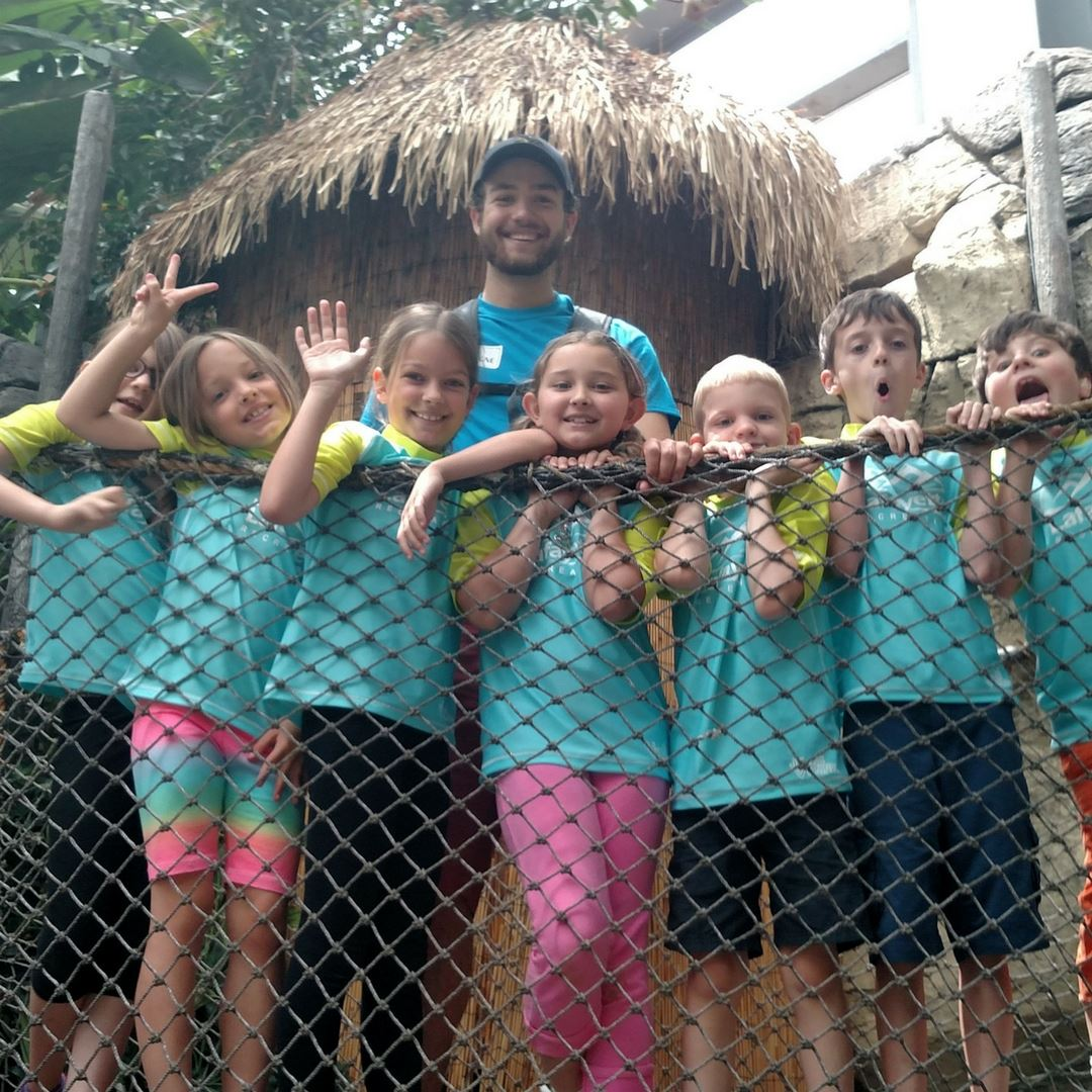 Day Camp Leader with Kids