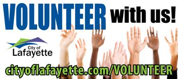 Volunteer graphic with website
