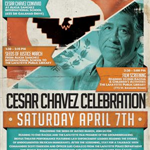 Cesar Chavez Celebration 2018 poster