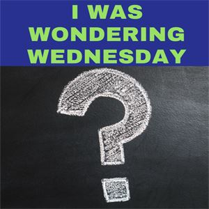 I Was Wondering Wednesday