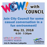 Chat with Council event May 2018