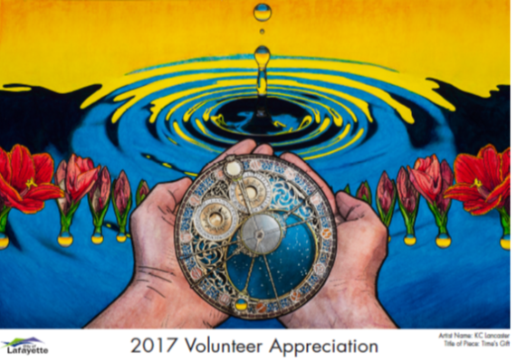 Volunteer appreciation poster image