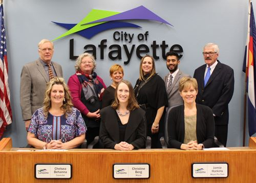 City Council Group photo November 2018