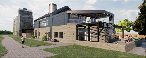 Silos Wellness Center rendering