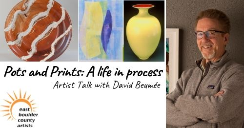 Artist talk with David Beumee on April 18