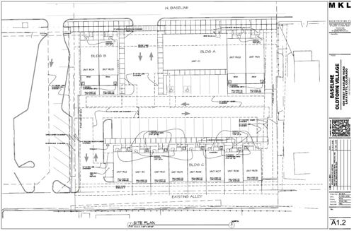 Baseline Oldtown Village site plan