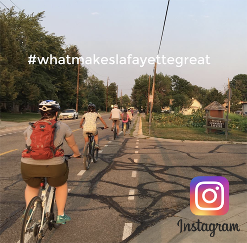 What makes Lafayette great_bikes and Instagram