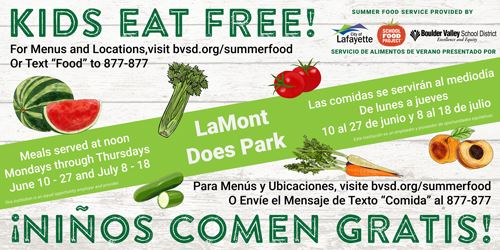 BVSD Summer Feeding program