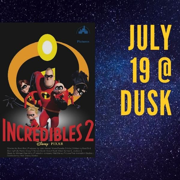 Incredibles 2 movie poster, July 19