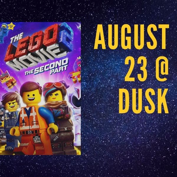 Lego Movie 2 poster August 23