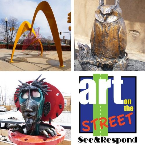 See and Respond Call for entry to respond to the Art on the Street sculpture