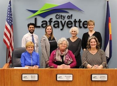 2019 Lafayette City Council group photo
