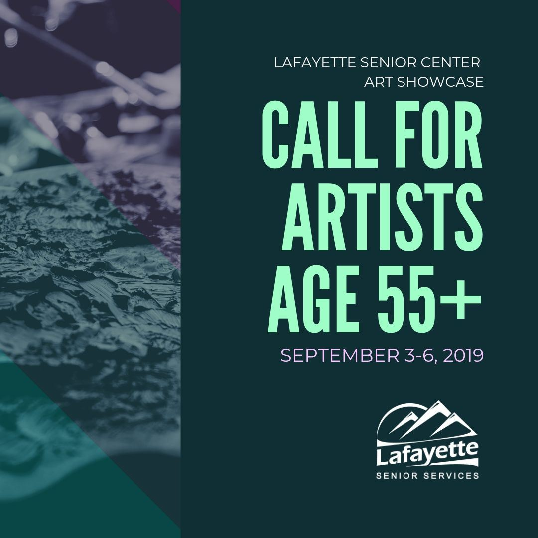 Lafayette Senior Art Showcase Call for Artists
