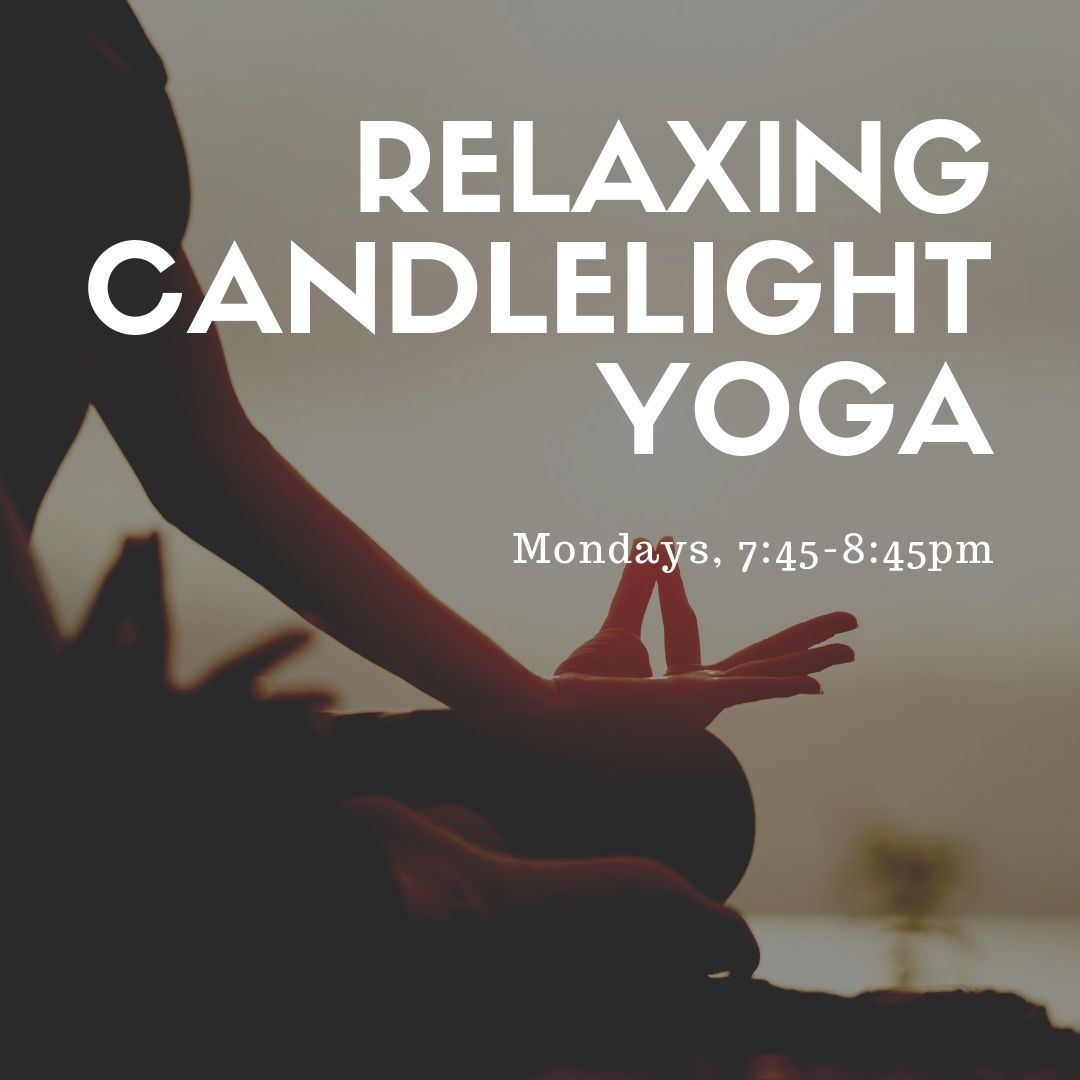 Relaxing Yoga by Candlelight