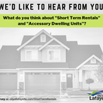Short term rental survey graphic