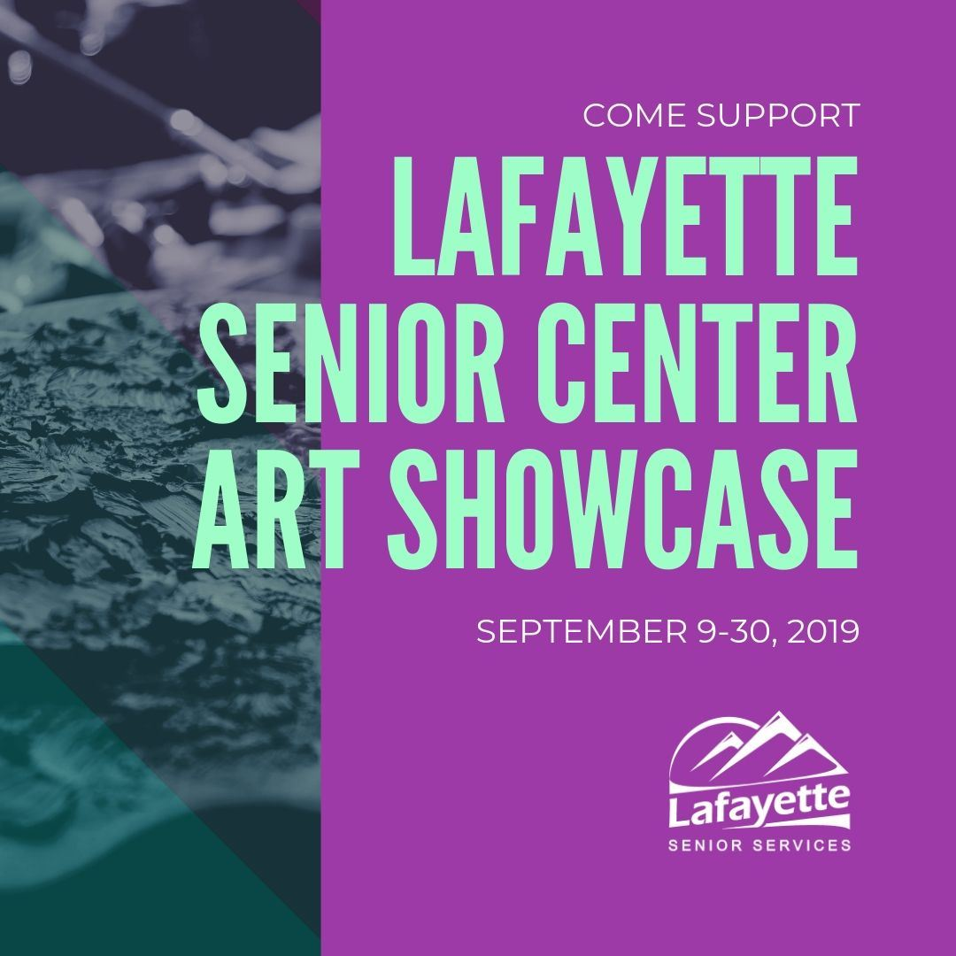 Come Support Lafayette Senior Art Showcase