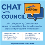 CHAT with Council_Sept 12 and Oct 19