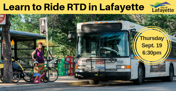 2019 Ride the RTD on Sept 19
