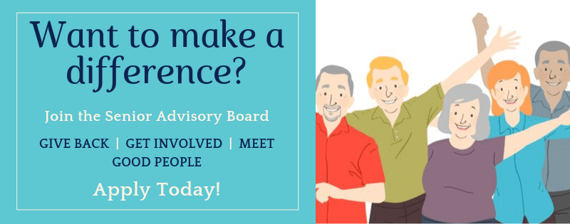 Want to make a difference? Join the Senior Advisory Board