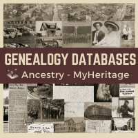 Genealogy databases