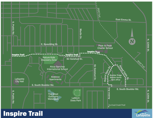 Inspire Trail Map
