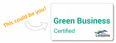 Certified Green Biz Decal