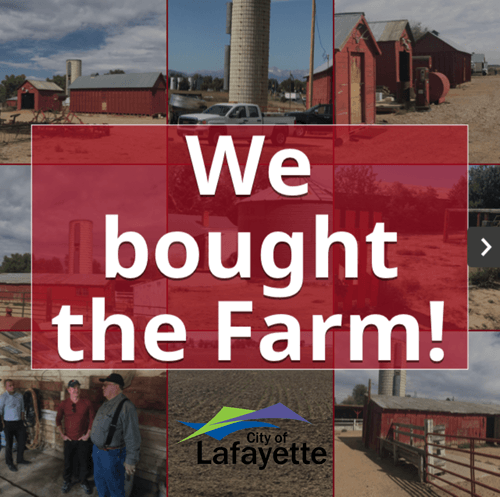 we bought the farm graphic