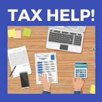 Make an appointment to have your taxes prepared and filed for free!