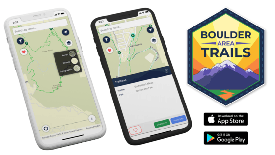 Boulder Area Trails App