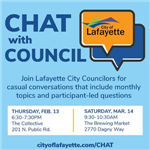 CHAT with Council_Feb13 Mar14 2020