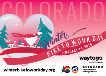 Winter bike to work day Feb 14