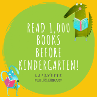 1,000 Books Before Kindergarten logo