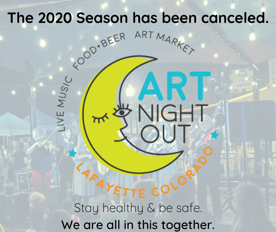 2020 Art Night out cancel