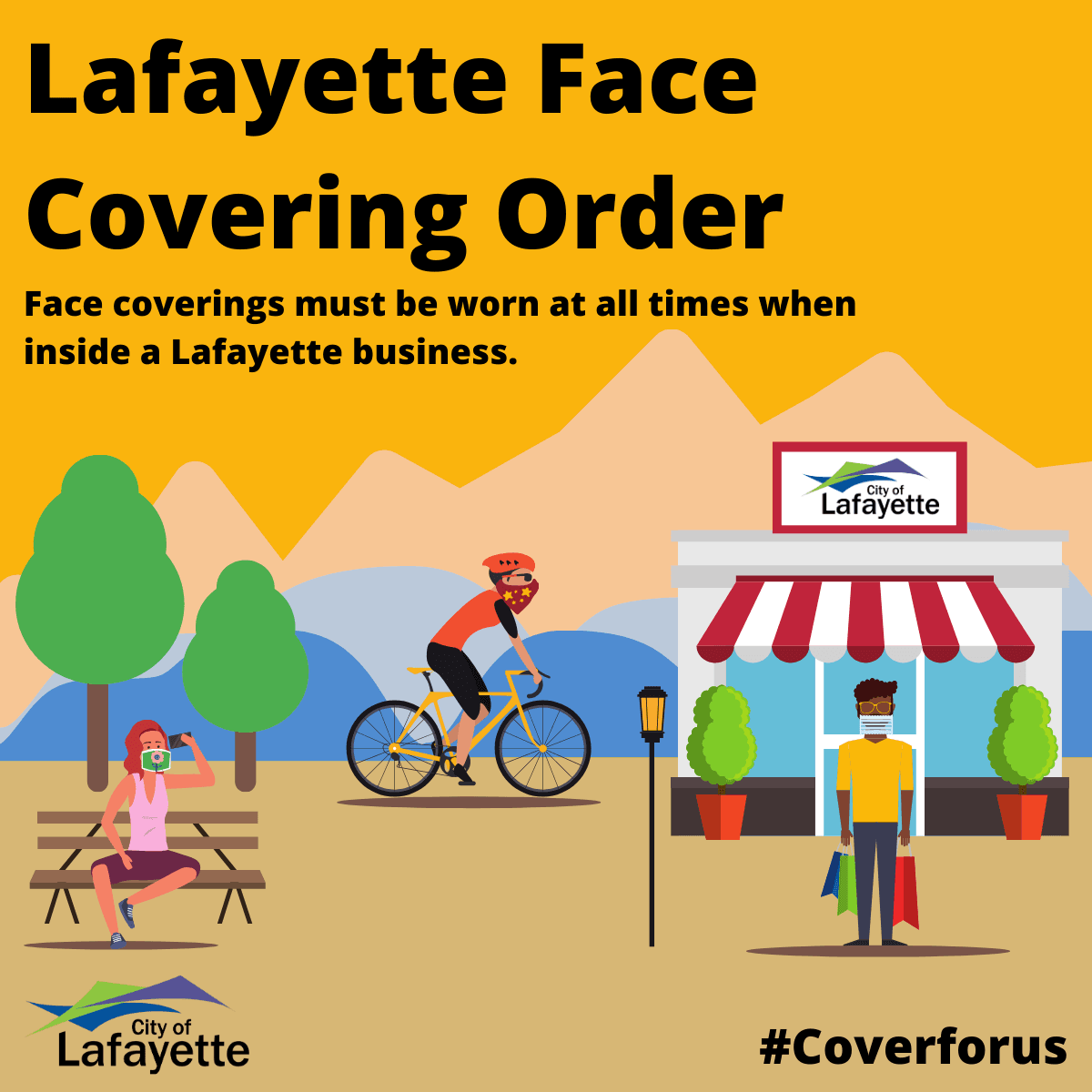 Lafayette Face Covering Orderf