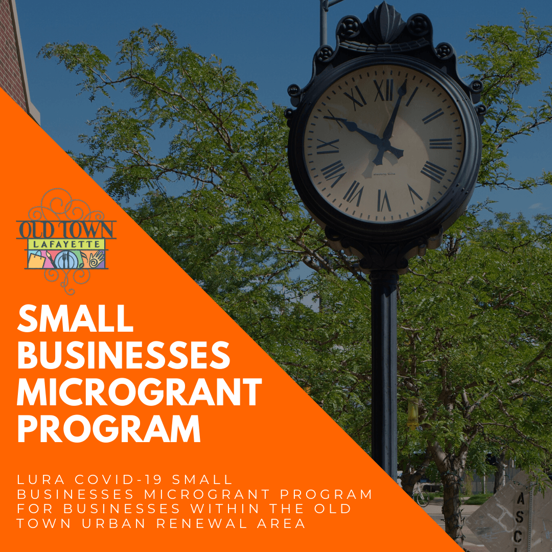 LURA small business grant program