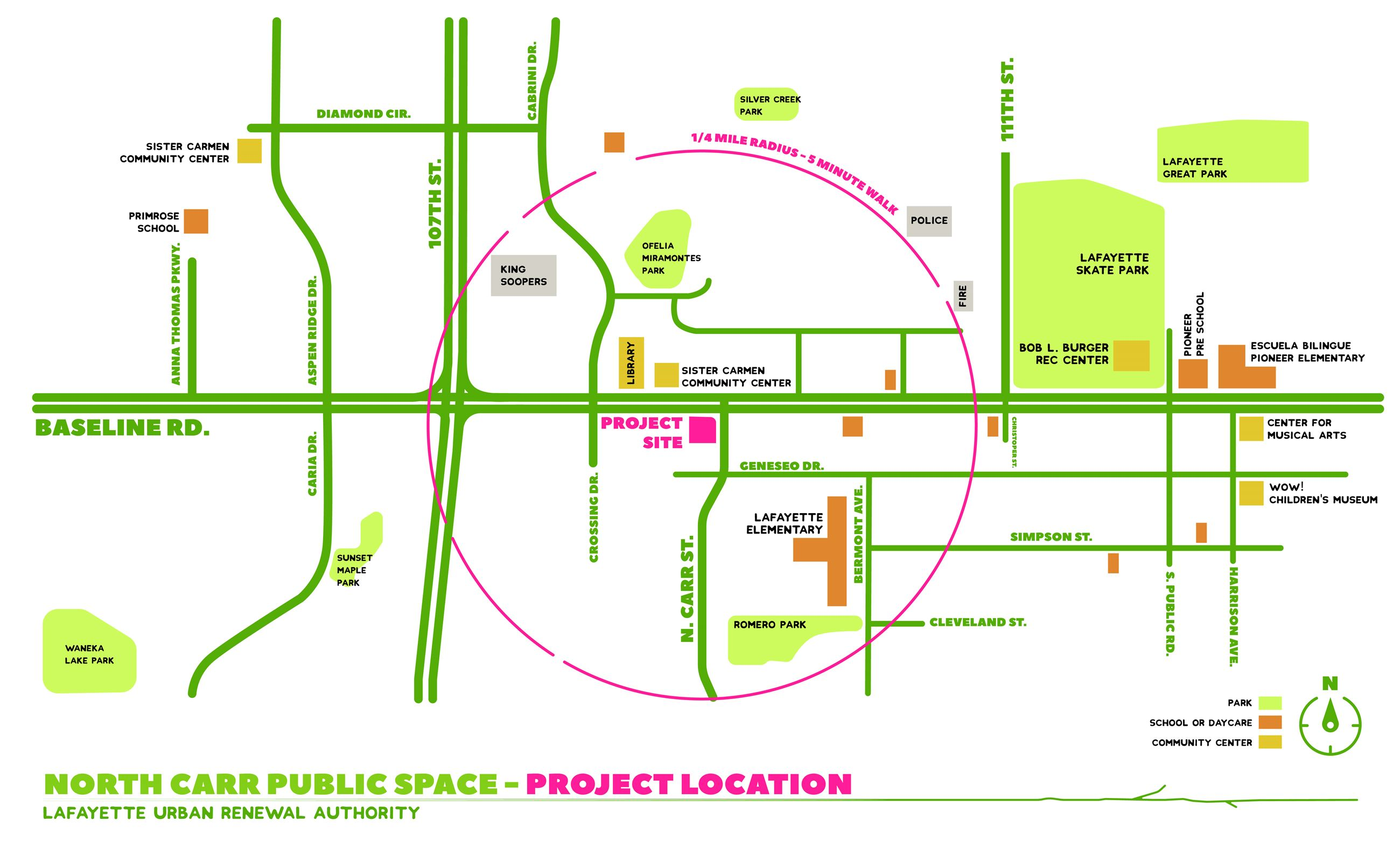 North Carr Public Space Design Input